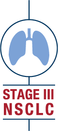 Unresectable Stage III NSCLC Badge for Emails