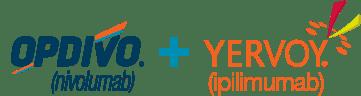 OPDIVO(R)(nivolumab) + YERVOY(R)(ipilimumab) logo